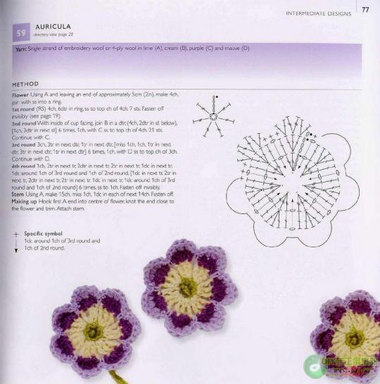 "16 Patrones Crochet ""Jardin"""