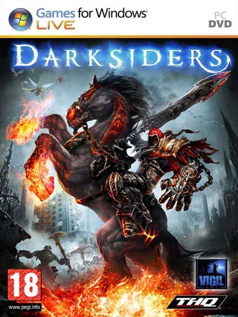 تحميل لعبة Darksiders مضغوطة برابط واحد مباشر كاملة مجانا