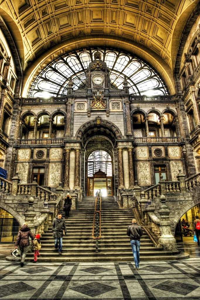10 Best Places to Holiday in Belgium (100+ Photos) | Antwerp, Belgium - Inside Central Station