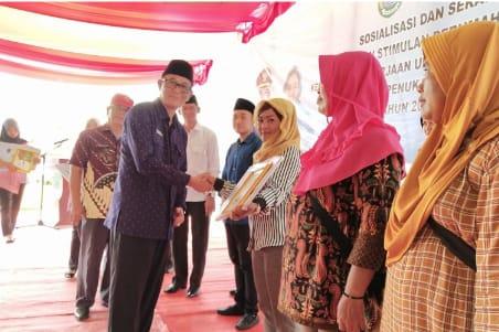 Pemkab PALI Bantu 1.696 Unit Rumah Menjadi Layak Huni