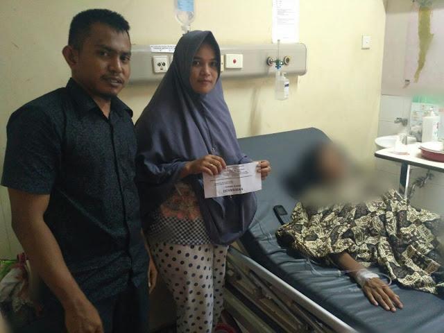 LPD ajak Dermawan bantu Ibu 4 Anak yang Menderita Kanker,Aceh Timur