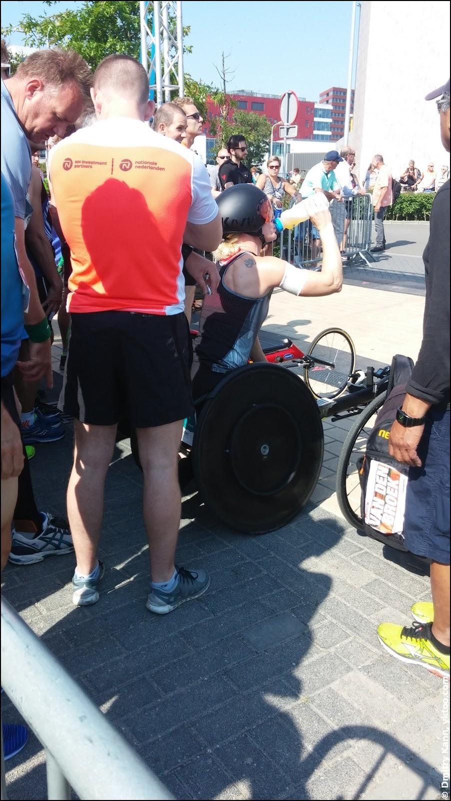 Инвалиды на старте.