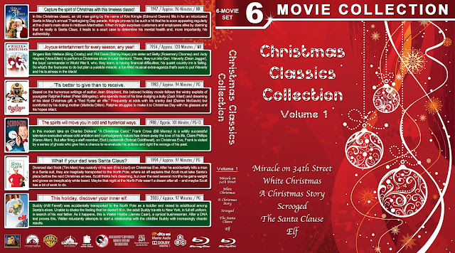 Christmas Classics Collection Volume 1 Bluray Cover