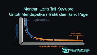 Mencari Long Tail Keyword untuk mendapatkan trafik dan rank page
