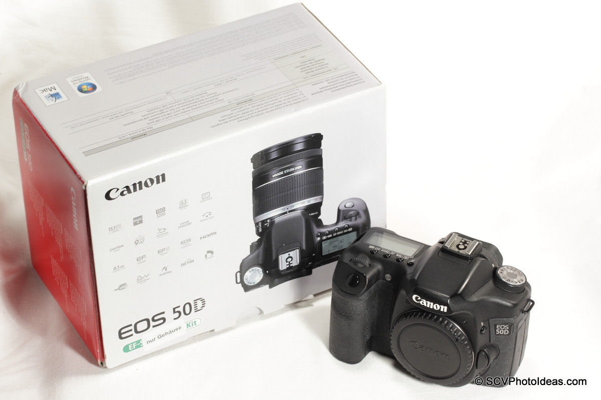 Canon EOS 50D Digital Camera + box