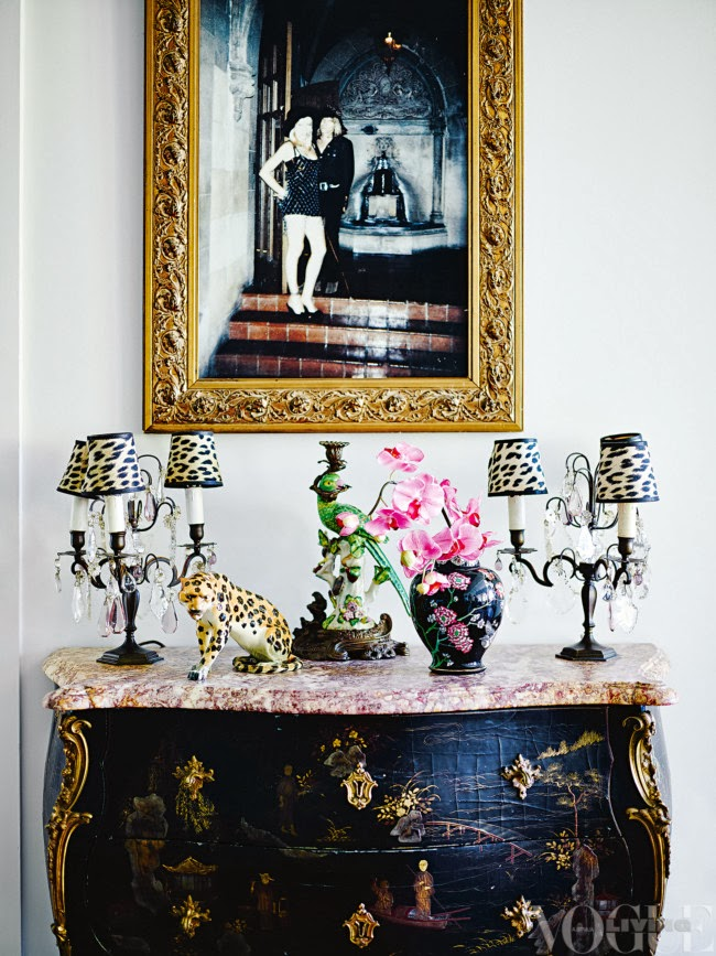 Antiques and rockabilly: the home of Wheels and Dollbaby's Melanie Greensmith