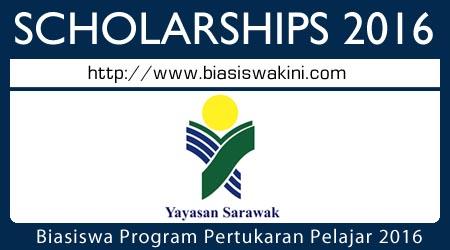 Biasiswa Program Pertukaran Pelajar 2016