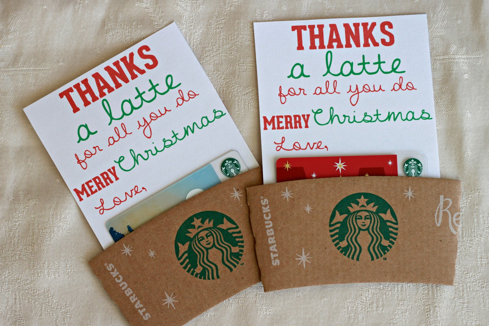 Mandie Starkey: thanks a latte | diy teacher christmas gift