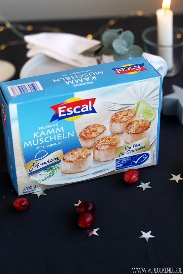 Escal Kammmuscheln Seafood Premium Foodblog