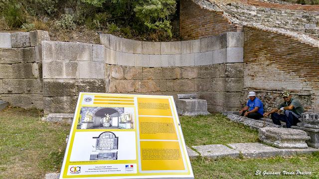 Santuario - Apolonia de Iliria, Albania por El Guisante Verde Project