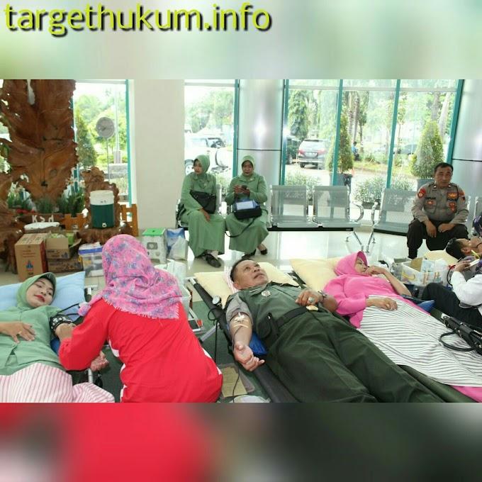 TNI Polri Peduli Bantuan Kaskuser Kemanusiaan Donor Darah