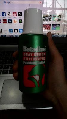 Riview Betadine Obat Kumur Andalanku
