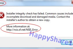 How to fix NSIS Error at the time of Application or Software to Install