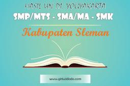HASIL UN SMK Kabupaten Sleman Tahun 2015 – 2017