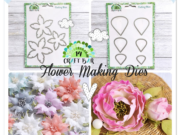 Foamiran Flower Making Dies