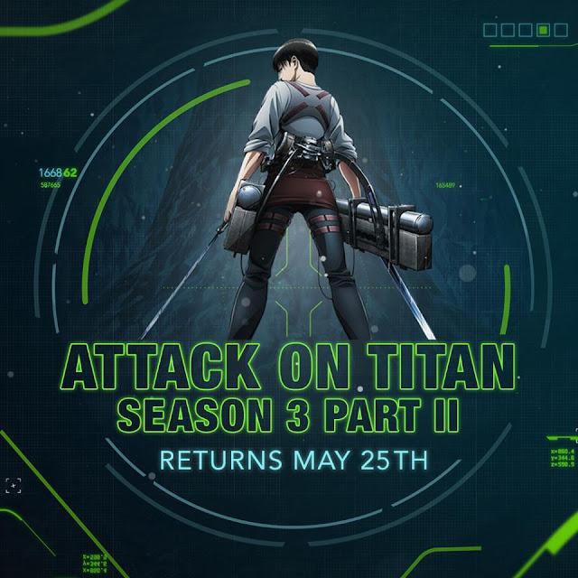 Attack on Titan Season 3 Part 2 Dub Release Date Confirmed