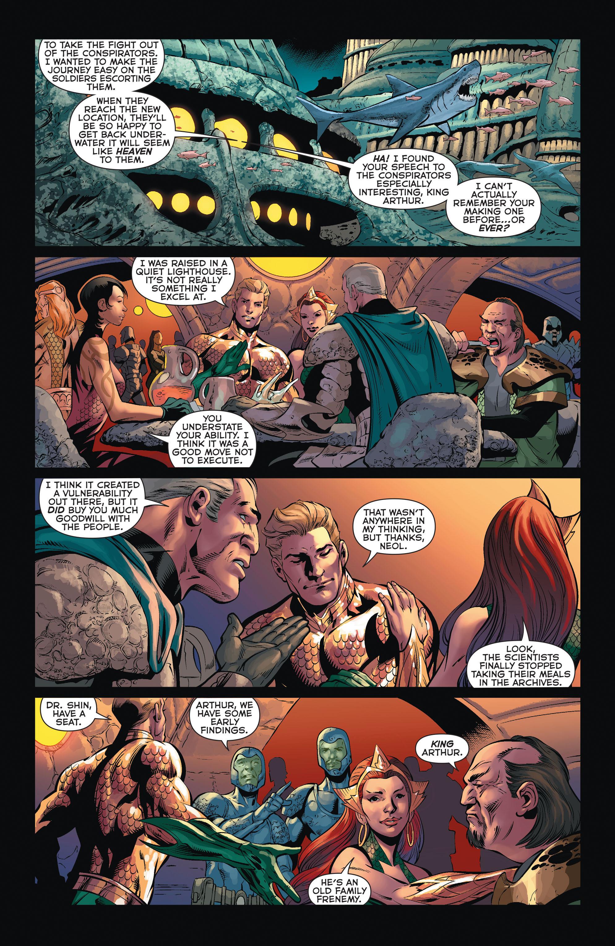 Read online Aquaman (2011) comic -  Issue #35 - 17