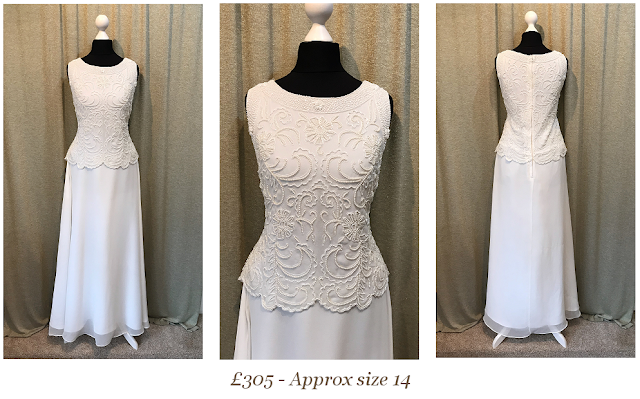 gatsby art deco 1920's style beaded vintage wedding dress available at vintage lane bridal boutique in bolton , manchester, lancashire