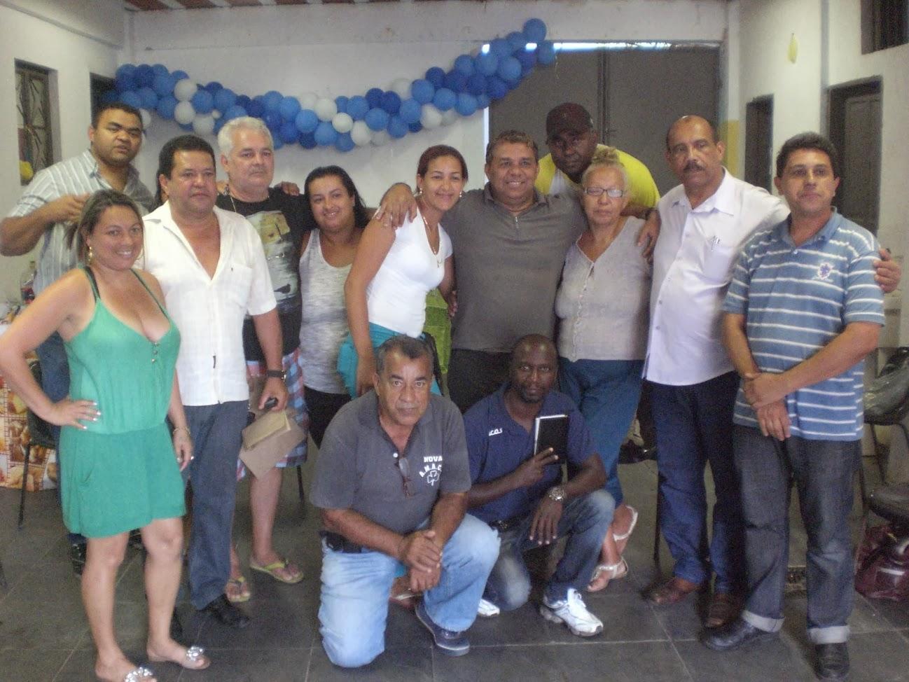 Presidentes das Associações de Moradores do Conjunto de Favelas da Maré
