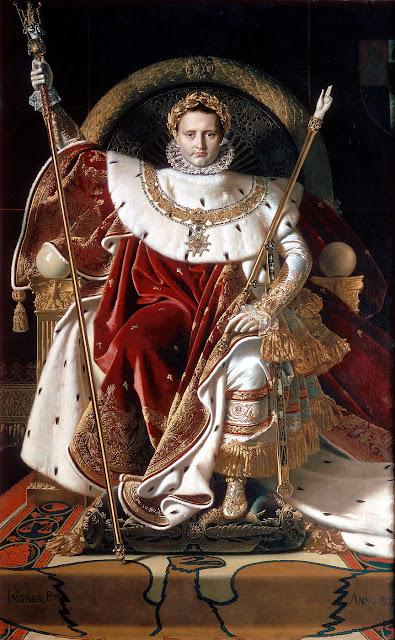 Napoleón, Ingres.