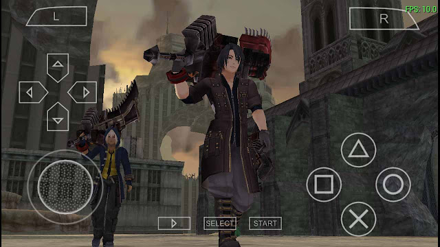 cara setting game god eater emulator