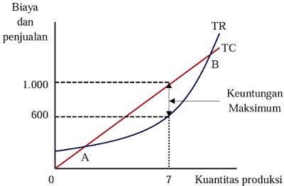 Pendekatan Biaya Total dan Hasil Penjualan Total