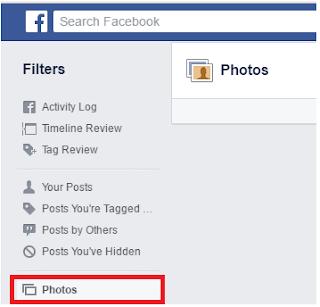 Cara Melihat Foto Yang di tandai Tag di Facebook Diunggah oleh Teman