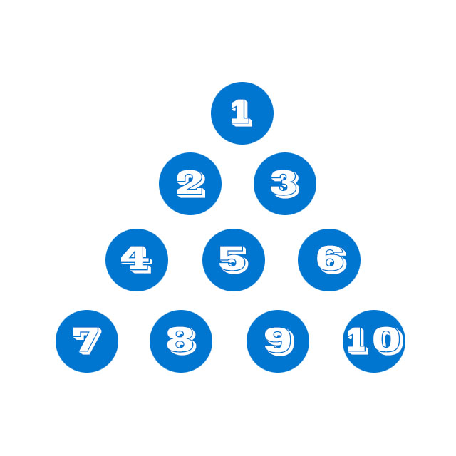 Number Pyramid Puzzle