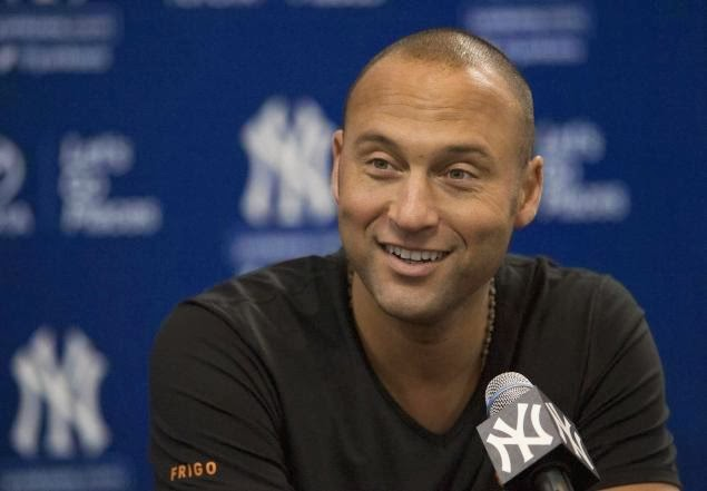 153405eef5dd4f The lucky winner will also snag four seats in Jeter s personal luxury suite  and a swag bag containing an autographed
