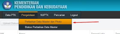 Cara Verval PTK/GTK di Halaman vervalptk.data.kemdikbud.go.id