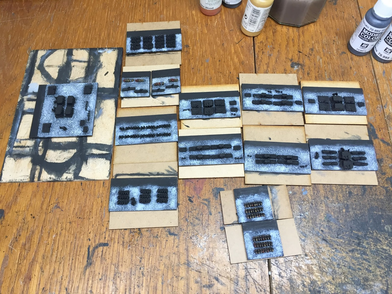 Roundwood s World Painting tips for 2mm figures and armies