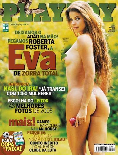 Roberta Foster nua na Playboy 2006