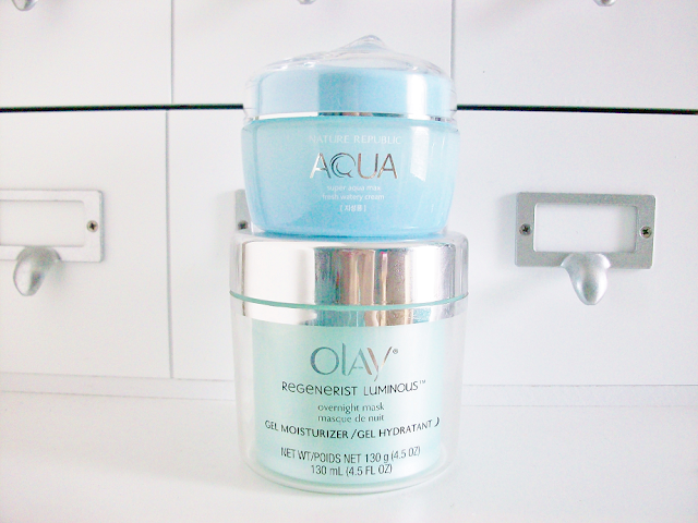 Olay Regenerist Luminous Overnight Mask Gel Moisturizer Review