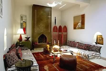 Salas rabes salas con estilo for Muebles estilo arabe