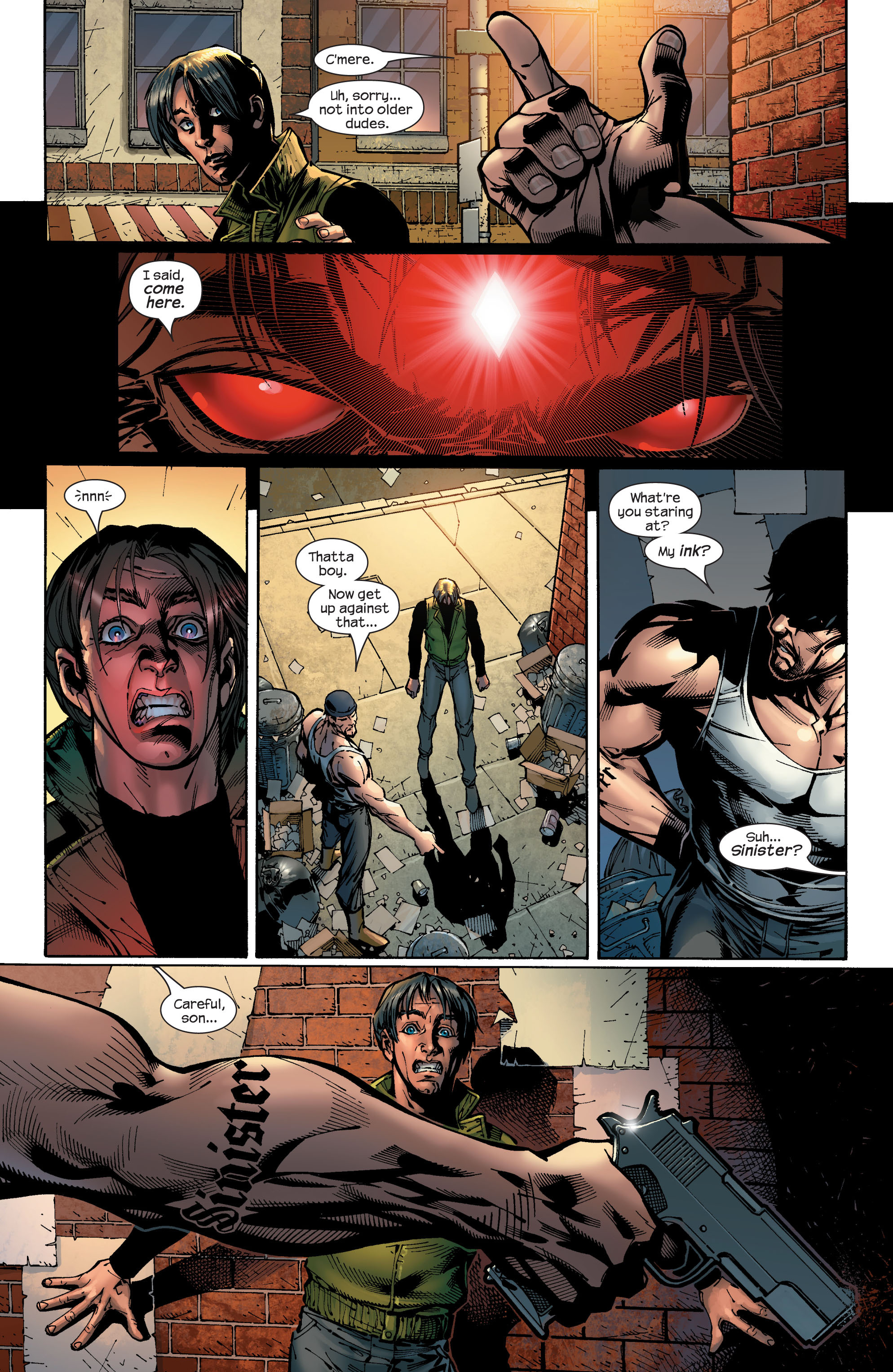 Read online Ultimate X-Men comic -  Issue #46 - 22