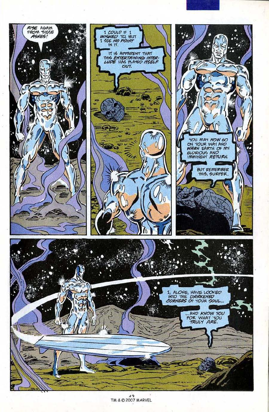 Read online Silver Surfer (1987) comic -  Issue #50 - 45