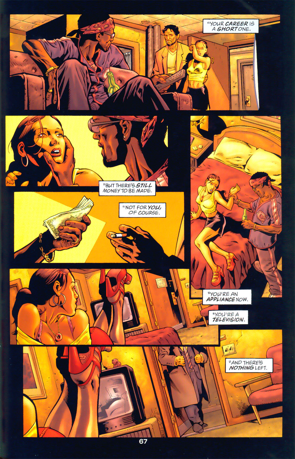 Read online Wonder Woman: The Hiketeia comic -  Issue # Full - 77