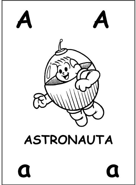 Alfabeto Ilustrado Turma Da Monica Desenhos E Atividades