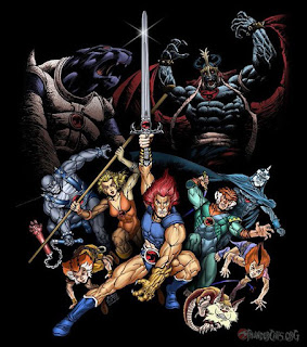 thundercats on loose,feel the magic,willykats,willykits,tygro,lion-O,Tygra,Panthro