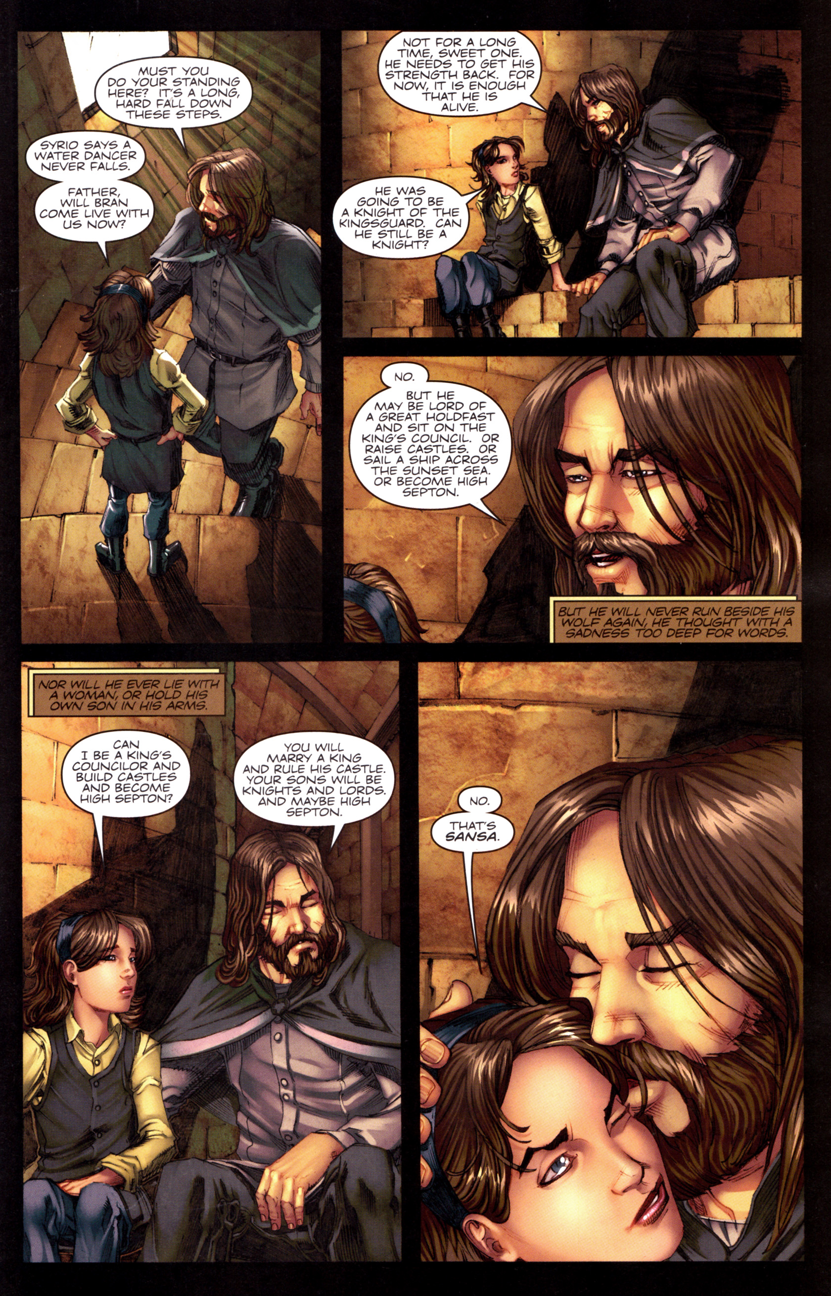 Read online A Game Of Thrones comic -  Issue #8 - 7