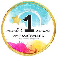 Gagnante Challenge carte d'automne - kartka jesienna + RUDA KITA