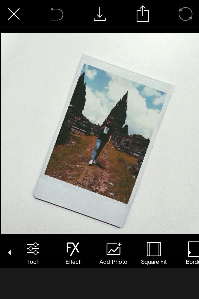 Aplikasi Edit Foto Polaroid : aplikasi, polaroid, Dulloh:, Membuat, Polaroid, Dengan, Picsart