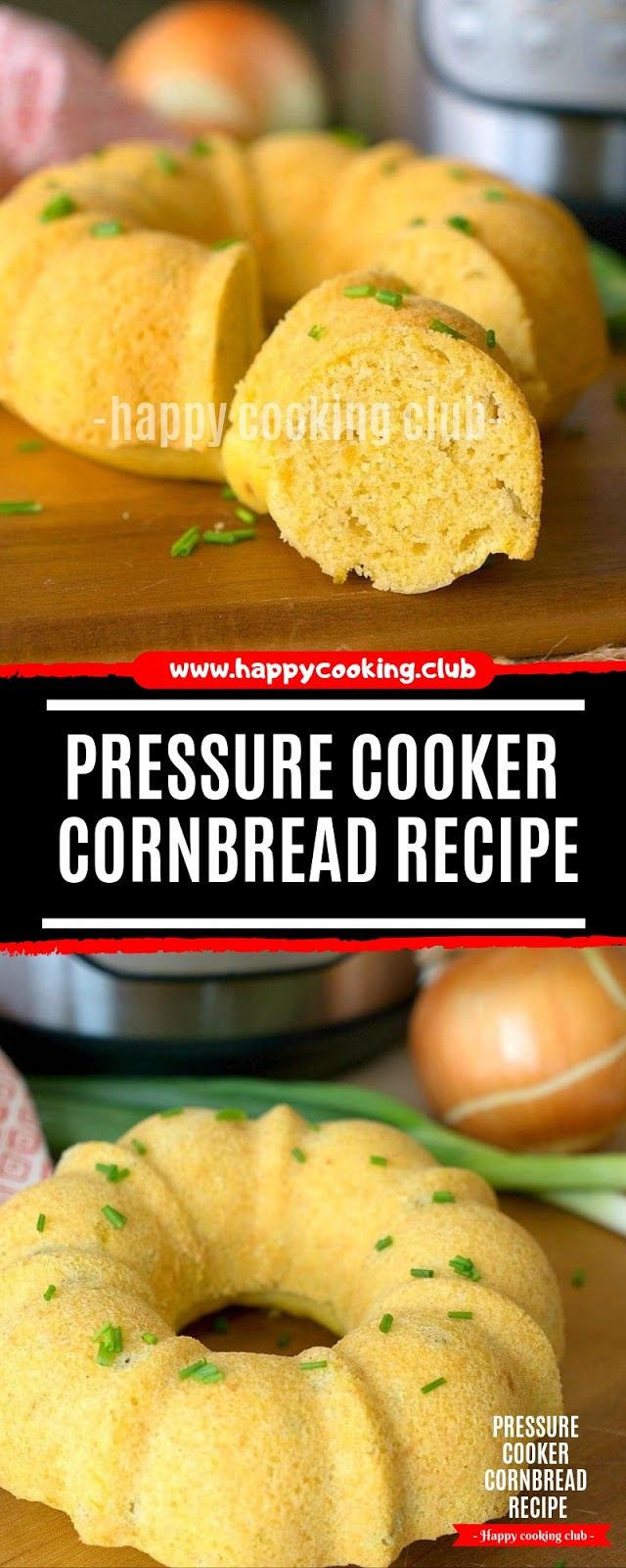 Pressure Cooker Cornbread Recipe