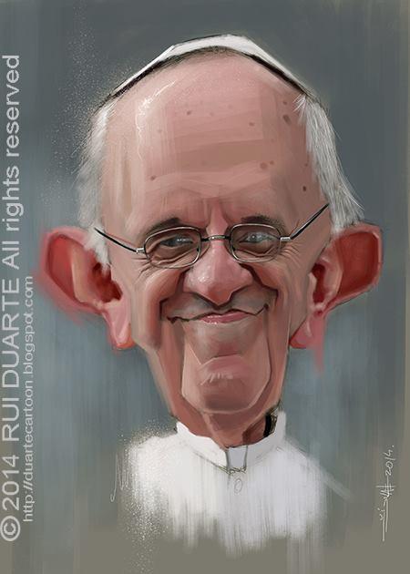 Papa Francisco por Rui Duarte