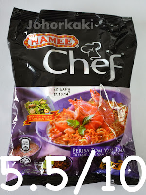 Mamee Chef Perisa Tom Yam Thai Instant Noodles