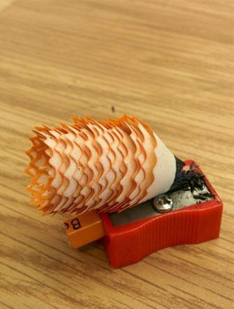 Rautan Pensil yang Super Duper Sabar