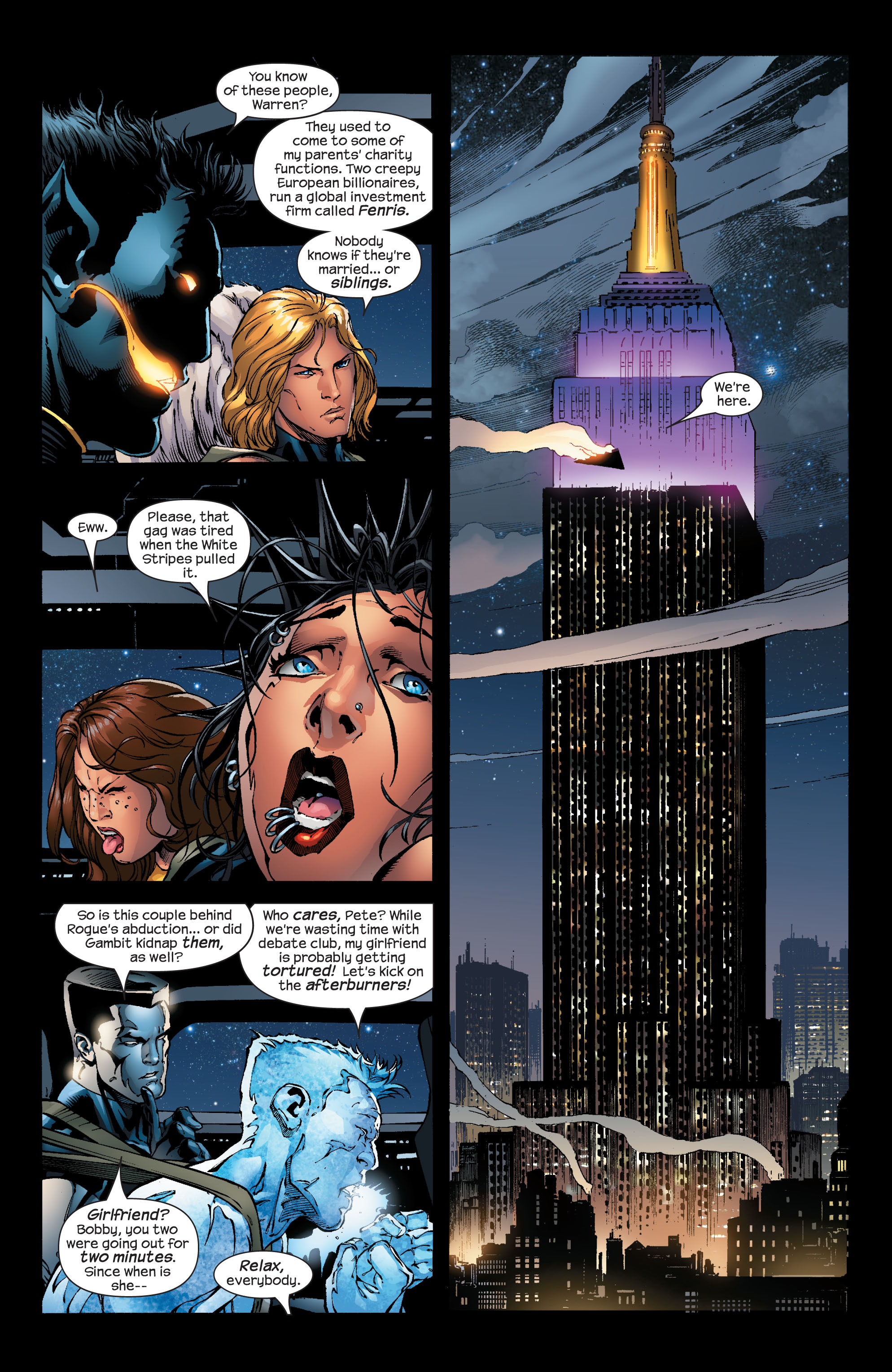 Read online Ultimate X-Men comic -  Issue #53 - 4