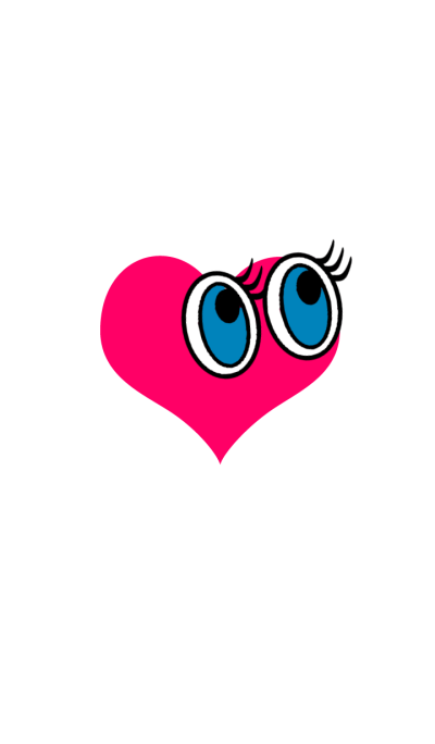 cute eyes heart***
