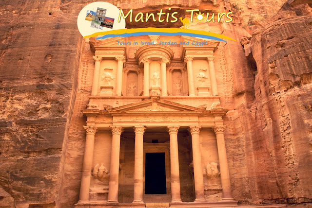The treasury in Petra Jordan ~ Mantis Tour