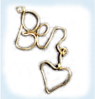 wire jewelry name charms